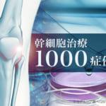 幹細胞治療100症例突破報告のバナー